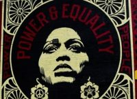 power & equality afro sm